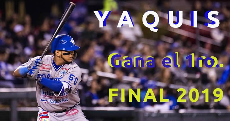 RESUMEN DEL 1ER JUEGO DE LA FINAL LMP CHARROS VS YAQUIS 7f86e6e68df